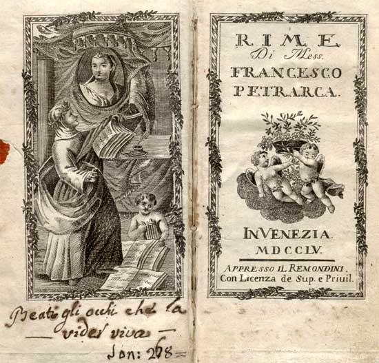 francesco petrarca laura